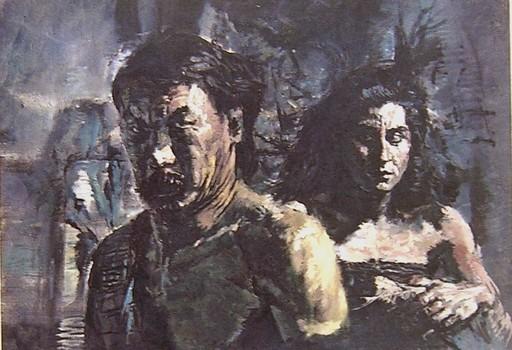 Kei MITSUUCHI - Pintura - Carmen e Don Josè