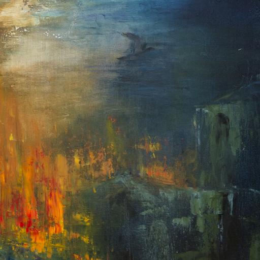 Danielle MAILLET-VILA - Painting -  La fleche de ND