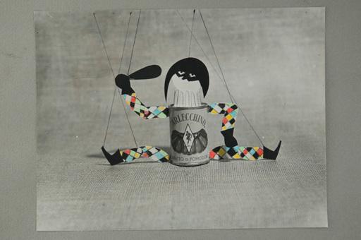 Pino PASCALI - Gemälde - Conserve Arlecchino
