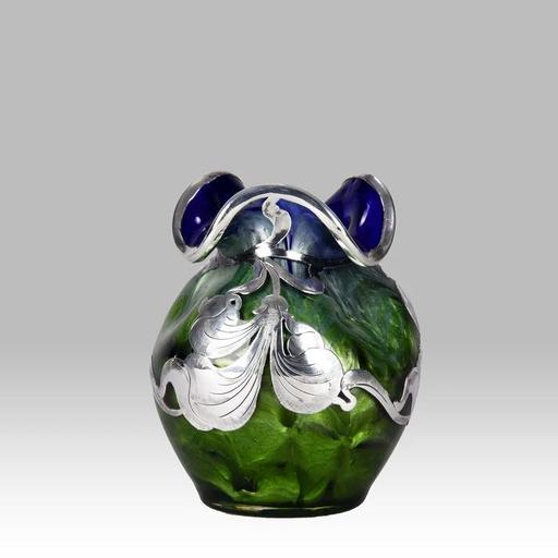 Johann LOETZ - Titania Silvered Art Nouveau Vase