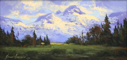 Heinie HARTWIG - Gemälde - Mountains of the North