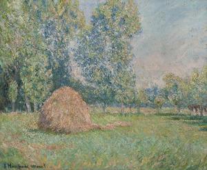 Blanche HOSCHÉDÉ-MONET - Painting - Meule de Foin
