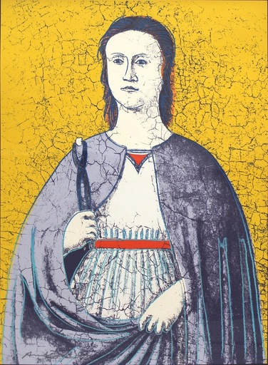 Andy WARHOL - Grabado -  Saint Apollonia (FS II.333)
