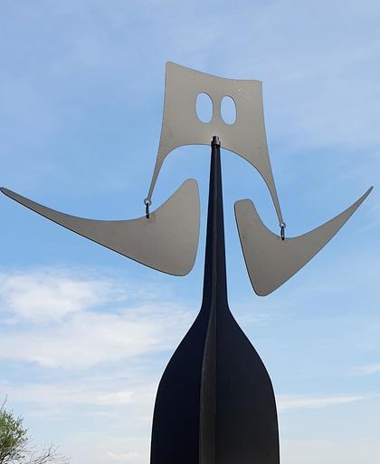 Philippe HIQUILY - Sculpture-Volume - La sénatrice