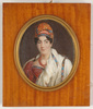 """Louis François AUBRY - 缩略图  - """"Portrait of a lady in turban"""", important miniature on ivory"""