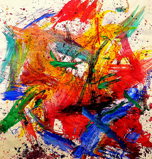 Gianni BORTA - Peinture - Senza titolo