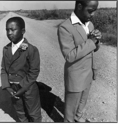 Mary Ellen MARK - Photography - Missisippi, Brothers going to church