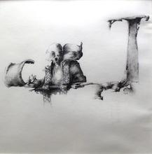 José HERNÁNDEZ - Drawing-Watercolor - Sin título