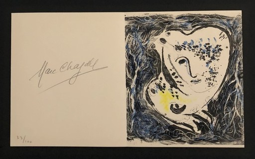 Marc CHAGALL - Print-Multiple - Frontispiece