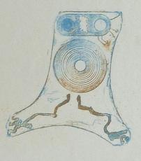 Max ERNST - Grabado - Plate 32, from Lewis Carroll's Wunderhorn