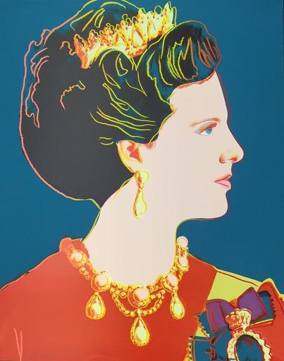 Andy WARHOL - Stampa-Multiplo - Queen Margarethe II of Denmark (FS II.343)