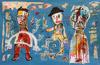 JAZZU - Peinture - L'envol d'un Homme
