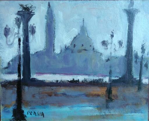 Alfred PERSIA - Pintura - Venise