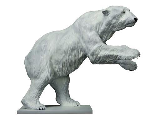 Damien COLCOMBET - Skulptur Volumen - Grand ours polaire