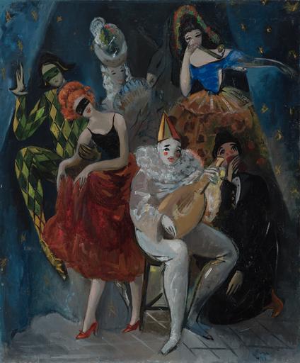 Pedro PRUNA OCERANS - Gemälde - Personajes circenses