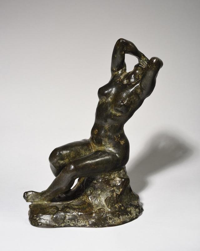 Aimé-Jules DALOU - Sculpture-Volume - Désespérée