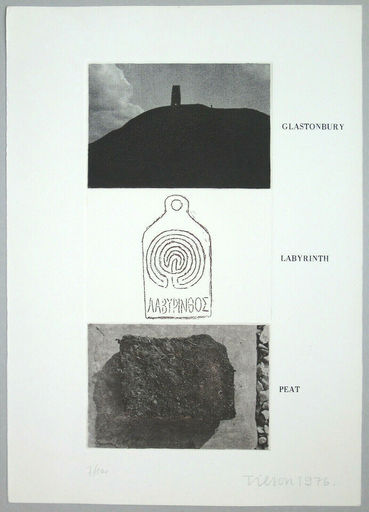 Joe TILSON - Print-Multiple - Glastonbury