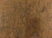 Robert DELAUNAY - Dibujo Acuarela - Ville de Paris