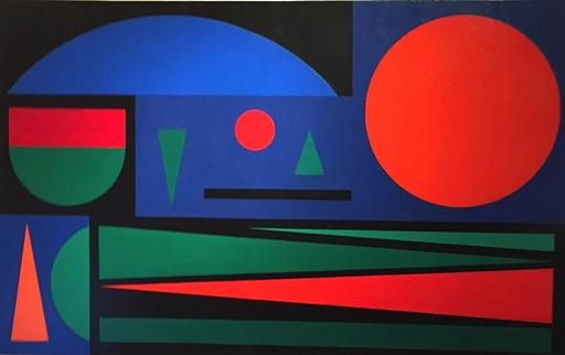 "Auguste HERBIN - Pittura - ""Soir"""