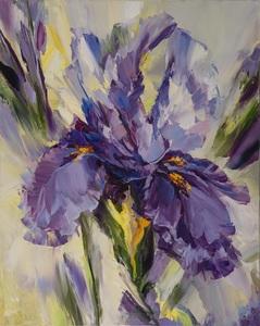 Alexander SERGEEV - Painting - Iris