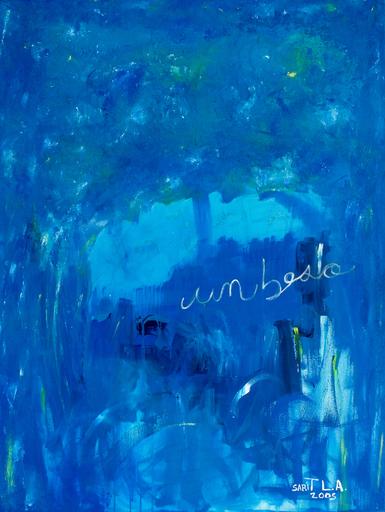 """Sarit LICHTENSTEIN - Painting - """"Un beso"""""""