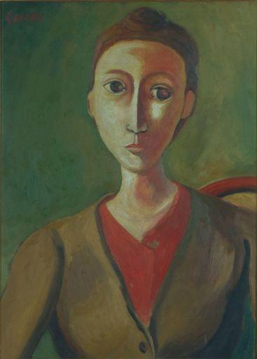 Virgilio GUIDI - Peinture - Baronessa