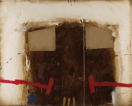 James COIGNARD - Pintura - Masse et blocage, 1989