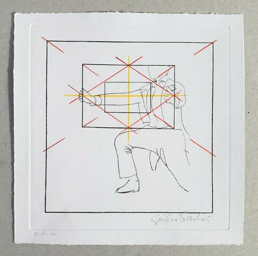Giulio PAOLINI - Print-Multiple - Cinque esercizi di stile (tav. E)
