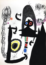 Joan MIRO (1893-1983) - Escalade vers la Lune