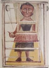 Massimo CAMPIGLI - Print-Multiple - Donna al Telaio - Woman at Loom