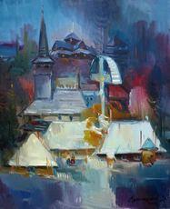 """Vasil SVALJAVCIK - Peinture - """" Die Komposition """""""