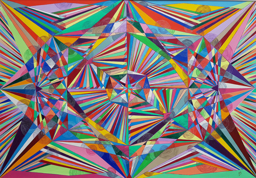 Monique BERTINA - Peinture - Ricochets