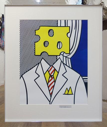 Roy LICHTENSTEIN - Stampa Multiplo - Surrealistic Paintings (Cheese Head)