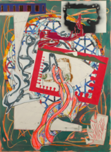 Frank STELLA - Estampe-Multiple - The Great Heidelburgh Tun