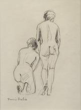 弗朗西斯·毕卡比亚 - 水彩作品 - Nus de dos
