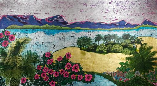 Corine LESCOP - Peinture - Hibiscus du Nil