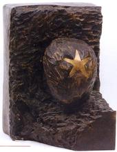 Aldo MONDINO - Escultura - Ortisei - Ritratto di Duchamp