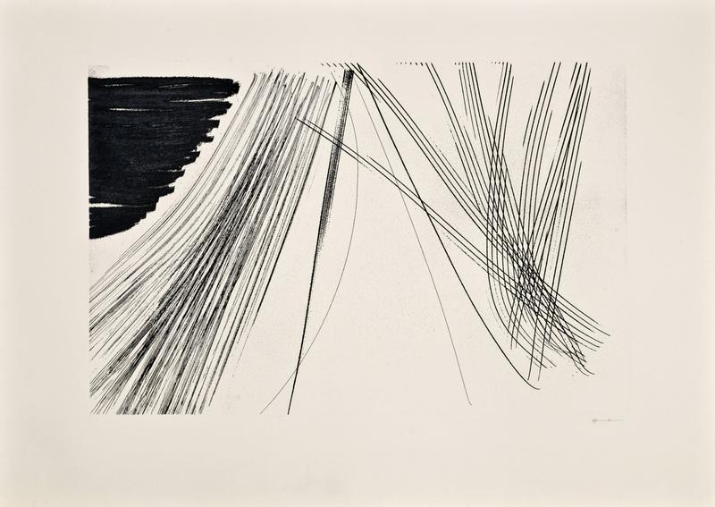 Hans HARTUNG - Estampe-Multiple - Las Estampas de la Cometa 4