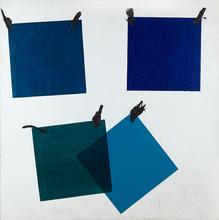 Aldo MONDINO - Peinture - Collage Campione