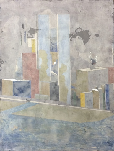 Jorge CASTILLO - Pittura - Las hermanas, New York