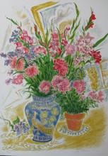 Ira MOSKOWITZ - Print-Multiple - Bouquet
