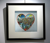 Charles FAZZINO - Print-Multiple - Night and day the heart beats for NYC