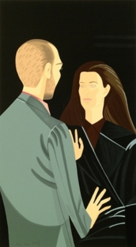 Alex KATZ - Estampe-Multiple - Pas de Deux III
