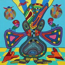 Michael JANSEN - Gemälde - Schizophrenie