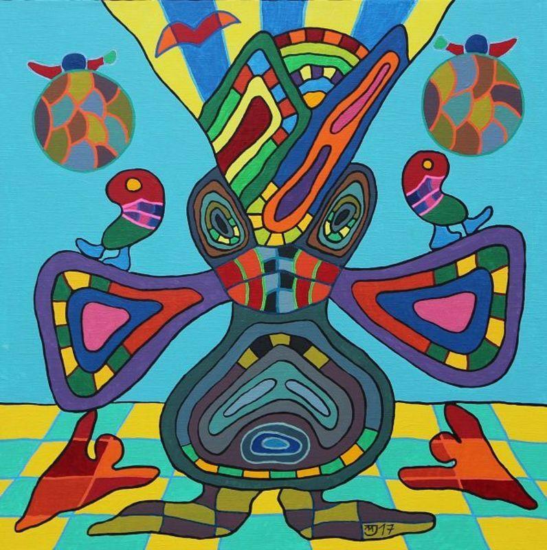 Michael JANSEN - Pintura - Schizophrenie