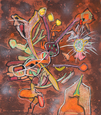 Roberto MATTA - Estampe-Multiple - New-View from the New Success Suite