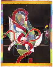 Frank STELLA (1936) - Pergusa Three
