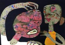 Elisabeth SABALA - Painting - No te sulfures cariño