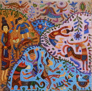 KUSBUDIYANTO - Painting - Good Life