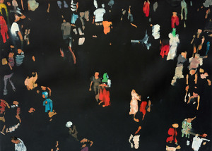 Daniele GALLIANO - Pittura - Come in Cielo Cosi in Terra #4